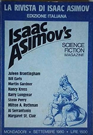 La Rivista Di Isaac Asimov. Science Fiction. N° 10 1980
